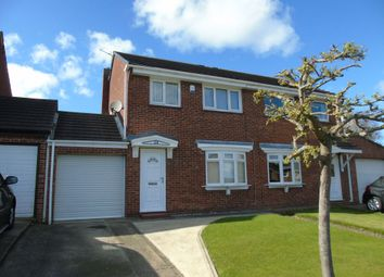Thumbnail 3 bed semi-detached house for sale in Sharpley Drive, Seaham