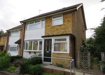 Thumbnail 3 bed end terrace house for sale in St Marys Green, Kennington, Ashford