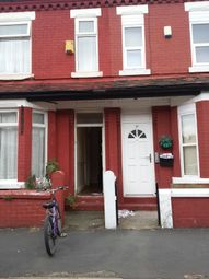 Thumbnail 4 bedroom shared accommodation to rent in Ruskin Avenue, Rusholme