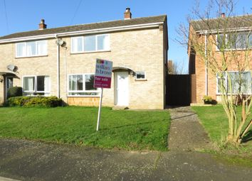 Thumbnail 2 bedroom end terrace house for sale in Halford Close, Attleborough