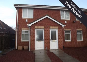 Thumbnail 2 bedroom flat to rent in Woodhorn Court, Ashington