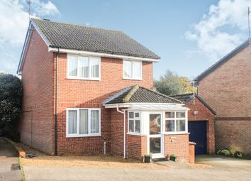 Thumbnail 3 bed detached house for sale in Alban Road, North Wootton, King's Lynn