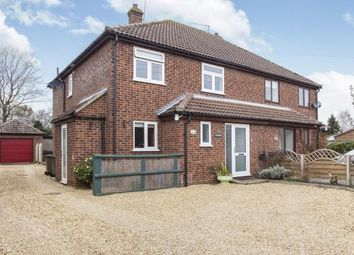 Thumbnail 4 bedroom semi-detached house for sale in Northwold, Thetford, Norfolk