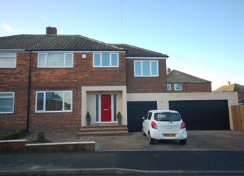 Thumbnail 4 bed semi-detached house for sale in Newlands Road, Belmont, Durham
