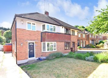 Thumbnail 3 bed semi-detached house for sale in Concord Avenue, Chatham, Kent