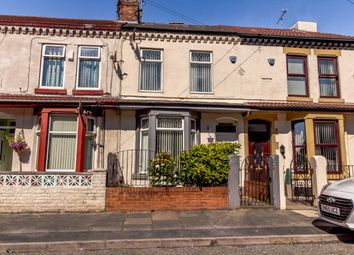 Thumbnail 3 bed terraced house for sale in Eaton Avenue, Liverpool, Merseyside