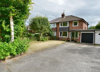 Thumbnail 3 bed semi-detached house for sale in Meadway, Bramhall, Stockport