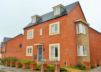 Thumbnail 4 bed detached house for sale in Rowthorne Close, Marina Gardens, Northampton
