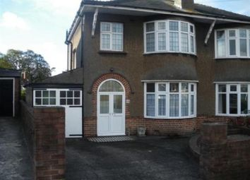 Thumbnail 3 bedroom semi-detached house to rent in Firbank Crescent, Newport, S Wales .