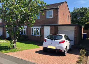 Thumbnail 3 bedroom semi-detached house for sale in Hickstead Grove, Cramlington, Northumberland