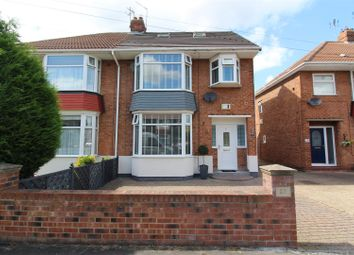 Thumbnail 4 bed semi-detached house for sale in Wembley Park Avenue, Hull