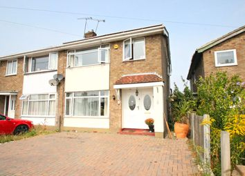 Thumbnail 3 bedroom semi-detached house for sale in Furtherwick Road, Canvey Island