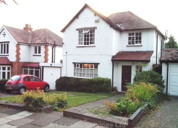 Thumbnail 3 bed detached house to rent in Southam Road, Hall Green, Birmingham