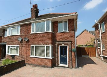 Thumbnail 3 bed semi-detached house for sale in Tewkesbury Drive, Basford, Nottingham