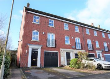 Thumbnail 4 bedroom end terrace house for sale in Attingham Drive, Dudley