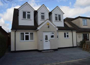 Thumbnail 4 bed detached house for sale in Greenway, Harold Wood, Romford