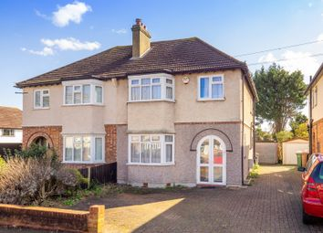 Thumbnail 3 bed semi-detached house for sale in Ridge Road, Sutton, Surrey
