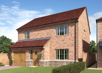 Thumbnail 4 bed detached house for sale in St Chads Way, Lincolnshire