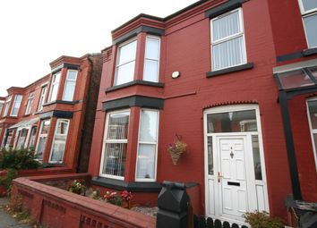 Thumbnail 4 bed terraced house for sale in Monk Road, Wallasey