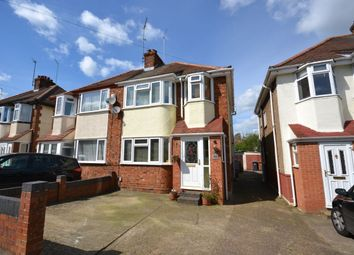 Thumbnail 3 bed semi-detached house for sale in Windsor Crescent, Duston, Northampton