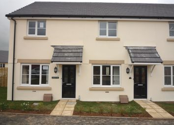 Thumbnail 2 bed terraced house to rent in Haye Common Drive, Launceston
