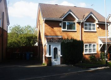 Thumbnail 2 bed semi-detached house for sale in Chaffinch Close, Oldham, Greater Manchester.