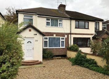 Thumbnail 3 bed semi-detached house for sale in Woodhaw, Egham