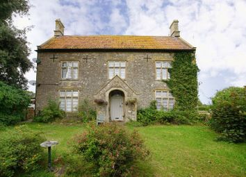 Thumbnail 7 bed farmhouse for sale in Hinton, Chippenham