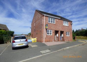 Thumbnail 2 bed semi-detached house to rent in Home Farm Court, Castle Gresley, Swadlincote