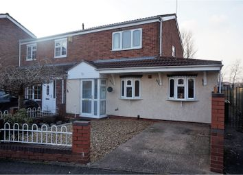 Thumbnail 3 bed semi-detached house for sale in Noose Crescent, Willenhall