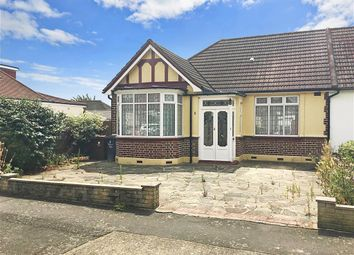 Thumbnail 2 bed semi-detached bungalow for sale in Melbourne Gardens, Chadwell Heath, Essex
