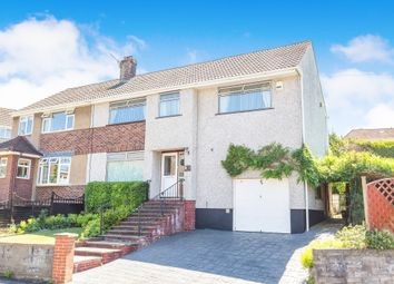 Thumbnail 5 bed semi-detached house for sale in Crantock Avenue, Headley Park, Bristol