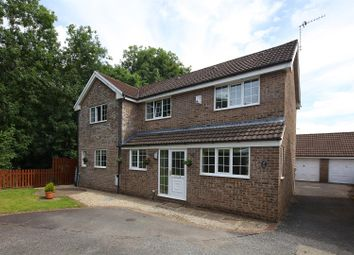Thumbnail 4 bed detached house for sale in Ravensbrook, Morganstown, Cardiff