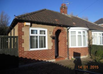Thumbnail 2 bed semi-detached bungalow to rent in Ravensdale Road, Darlington