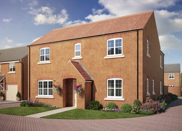 "Thumbnail 4 bed detached house for sale in ""The Southrop"" at Colton Road, Shrivenham, Swindon"