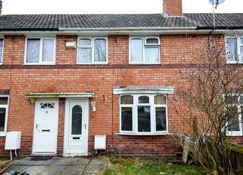 Thumbnail 2 bed terraced house for sale in Milcote Road, Weoley Castle, Birmingham