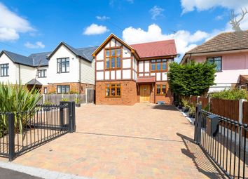 Thumbnail 4 bed detached house for sale in London Road, Abridge, Essex