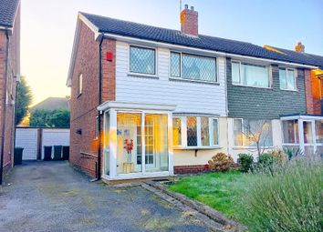 Thumbnail 3 bed semi-detached house for sale in Rayford Drive, West Bromwich, West Midlands