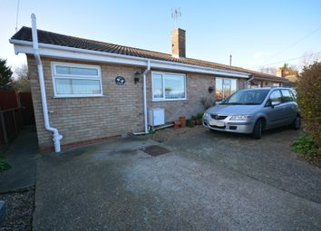 Thumbnail 3 bed semi-detached bungalow for sale in Willow Road, Lowestoft