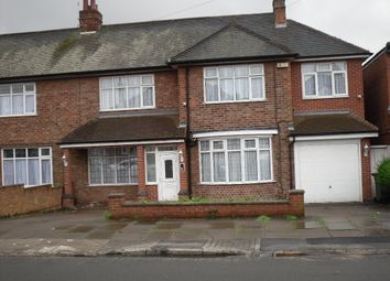 Thumbnail 4 bed semi-detached house for sale in Kingsway Road, Evington, Leicester