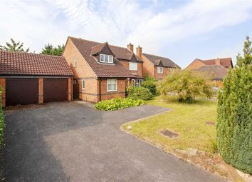 Thumbnail 4 bed detached house for sale in Lynmouth Crescent, Furzton, Milton Keynes, Bucks