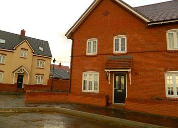 Thumbnail 2 bed end terrace house to rent in Danegeld Avenue, Great Denham, Biddenham, Bedford