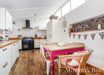 Thumbnail 4 bed semi-detached house for sale in The Hill, Smallburgh, Norwich