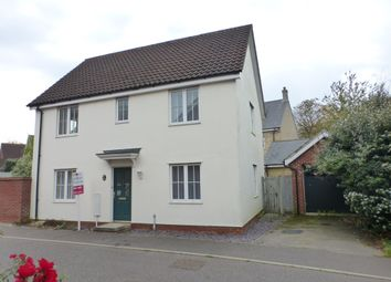 Thumbnail 3 bed detached house for sale in Sunderland Close, Old Catton, Norwich