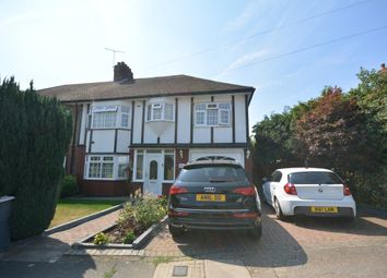 Thumbnail 4 bed semi-detached house for sale in The Ridgeway, Harold Wood, Romford