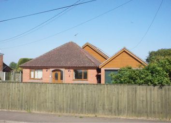 Thumbnail 5 bed detached bungalow for sale in The Green, Ipswich