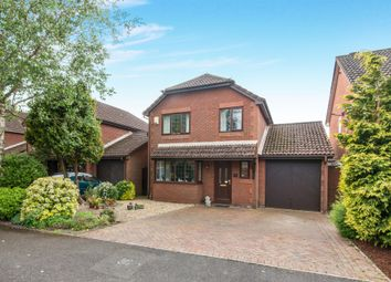 Thumbnail 4 bed detached house for sale in Greenwood Avenue, Rownhams, Southampton