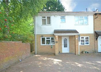 Thumbnail 4 bed end terrace house for sale in Merton Close, Claremont Wood, Sandhurst