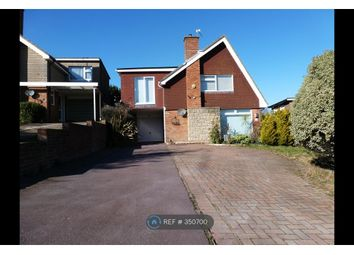 Thumbnail 3 bed detached house to rent in Rodmill Drive, Eastbourne