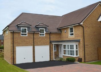 "Thumbnail 4 bedroom detached house for sale in ""Rothbury 1"" at Gold Furlong, Marston Moretaine, Bedford"